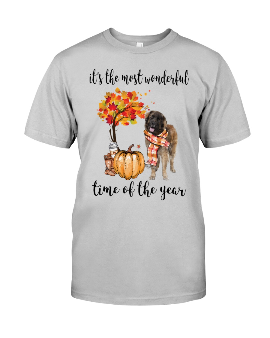 The Most Wonderful Time - Leonberger Classic T-Shirt
