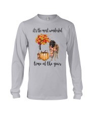 The Most Wonderful Time - Leonberger Long Sleeve Tee thumbnail