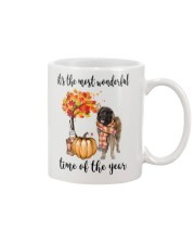 The Most Wonderful Time - Leonberger Mug thumbnail