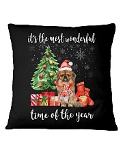 The Most Wonderful Xmas - Pekingese Square Pillowcase thumbnail