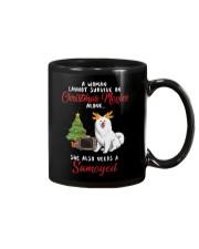 Christmas Movies and Samoyed Mug thumbnail