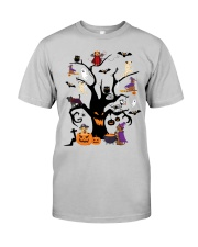 Halloween Dogs Tree Classic T-Shirt front