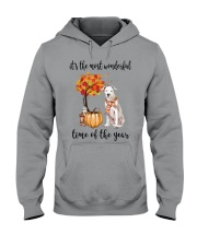 The Most Wonderful Time - Dogo Argentino Hooded Sweatshirt thumbnail