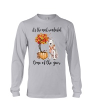 The Most Wonderful Time - Dogo Argentino Long Sleeve Tee thumbnail