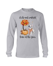The Most Wonderful Time - French Bulldog Long Sleeve Tee thumbnail
