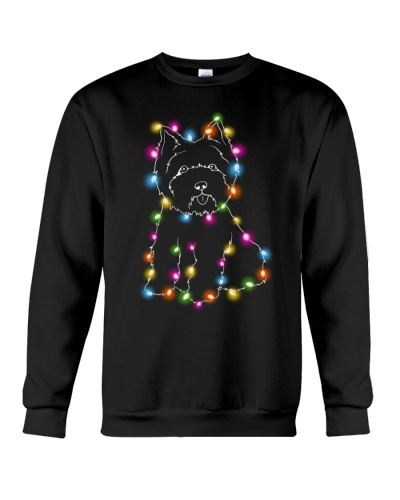 Christmas Light Westie