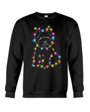 Christmas Light Westie Crewneck Sweatshirt thumbnail