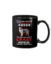 If You Mess With My Aussie Mug thumbnail