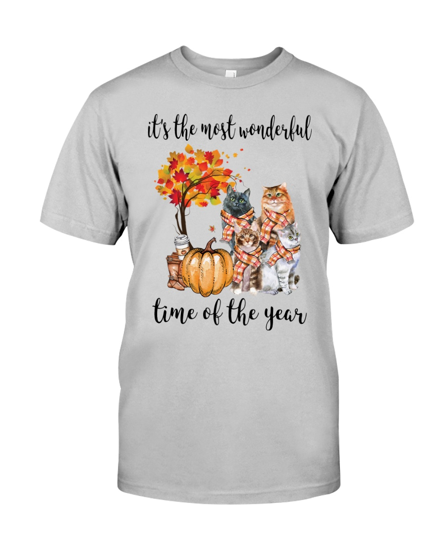 The Most Wonderful Time - Cats Classic T-Shirt