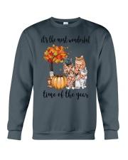 The Most Wonderful Time - Cats Crewneck Sweatshirt thumbnail