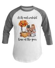 The Most Wonderful Time - Cats Baseball Tee thumbnail
