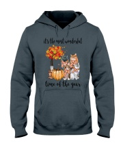 The Most Wonderful Time - Cats Hooded Sweatshirt thumbnail