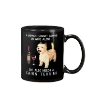 Wine and Cairn Terrier Mug thumbnail