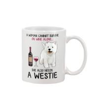 Wine and Westie 4 Mug thumbnail