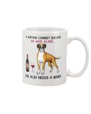 Wine and Boxer 4 Mug thumbnail