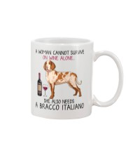 Wine and Bracco Italiano 2 Mug thumbnail