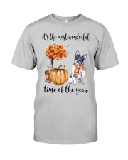 The Most Wonderful Time - Boston Terrier Classic T-Shirt front