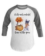 The Most Wonderful Time - Boston Terrier Baseball Tee thumbnail