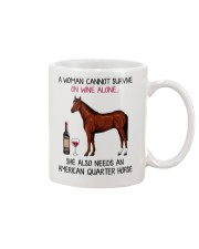 Wine and American Quarter Horse 2 Mug thumbnail