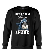 It's A Schnauzer Not A Freakin Shark Crewneck Sweatshirt thumbnail