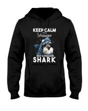 It's A Schnauzer Not A Freakin Shark Hooded Sweatshirt thumbnail