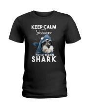 It's A Schnauzer Not A Freakin Shark Ladies T-Shirt thumbnail