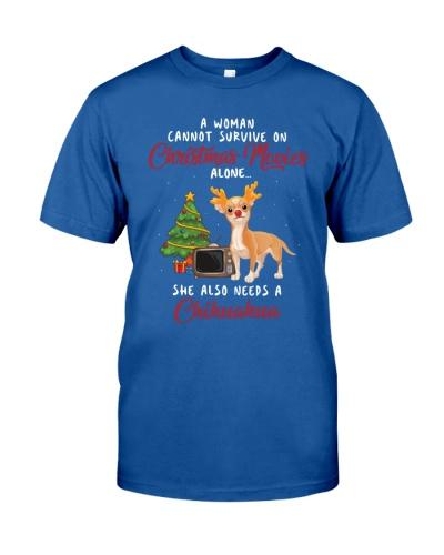 Christmas Movies and Chihuahua