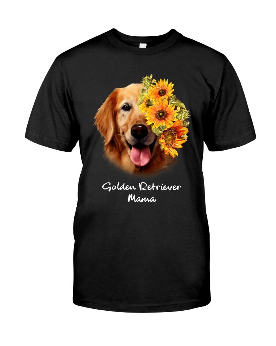 Golden Retriever Mama Classic T-Shirt