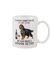 Wine and Gordon Setter 2 Mug thumbnail