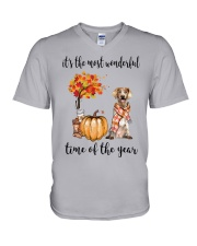 The Most Wonderful Time - Brittany V-Neck T-Shirt thumbnail