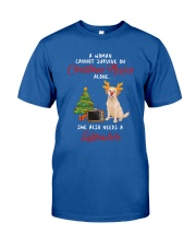 Christmas Movies and Labrador Classic T-Shirt front