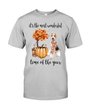The Most Wonderful Time - Wire Fox Terrier Classic T-Shirt front