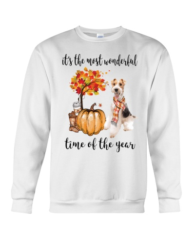 The Most Wonderful Time - Wire Fox Terrier