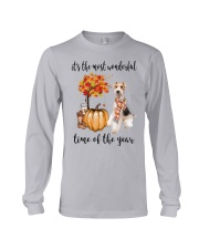 The Most Wonderful Time - Wire Fox Terrier Long Sleeve Tee thumbnail