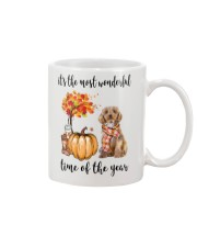 The Most Wonderful Time - Cockapoo Mug tile