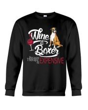 Boxer - Therapy is expensive Crewneck Sweatshirt thumbnail