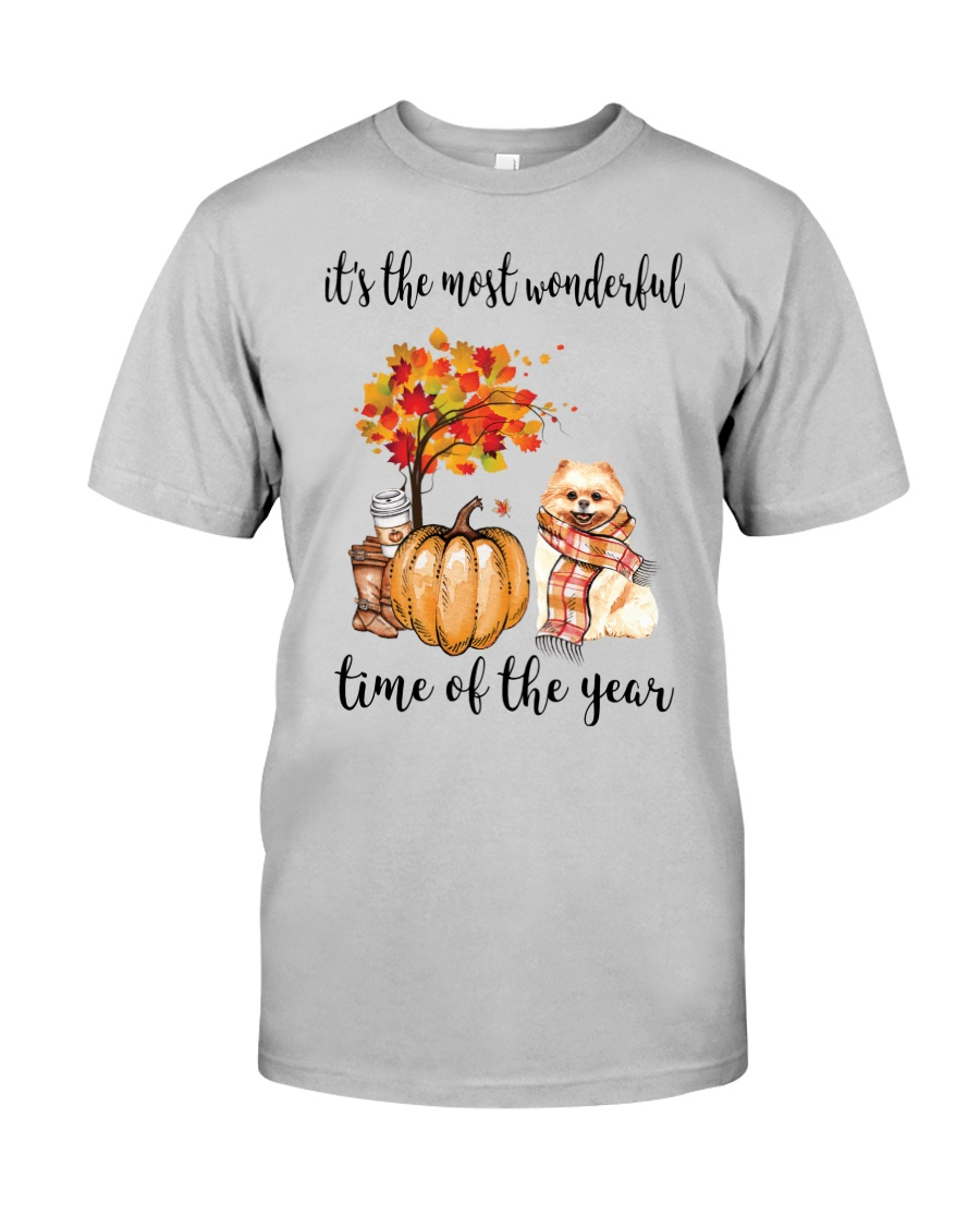 The Most Wonderful Time - Pomeranian Classic T-Shirt