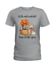 The Most Wonderful Time - Pomeranian Ladies T-Shirt tile