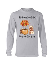 The Most Wonderful Time - Pomeranian Long Sleeve Tee thumbnail