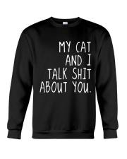 My Cat and I Crewneck Sweatshirt thumbnail