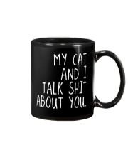 My Cat and I Mug thumbnail