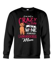 Crazy Lady Labradoodle Crewneck Sweatshirt thumbnail