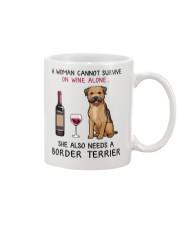Wine and Border Terrier 2 Mug thumbnail