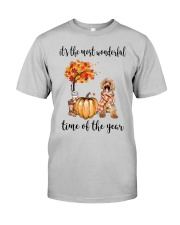 The Most Wonderful Time - Labradoodle Classic T-Shirt front