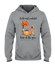 The Most Wonderful Time - Labradoodle Hooded Sweatshirt thumbnail