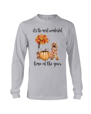 The Most Wonderful Time - Labradoodle Long Sleeve Tee thumbnail