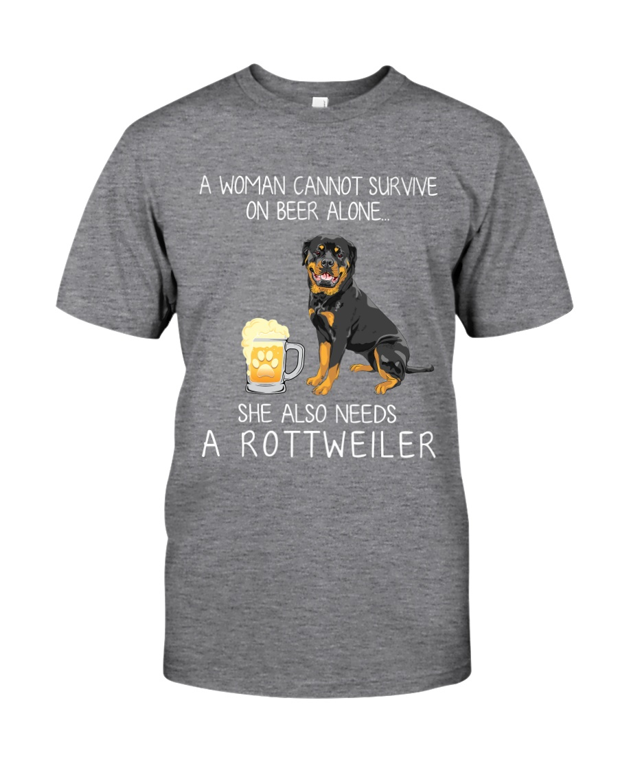 Beer and Rottweiler Classic T-Shirt