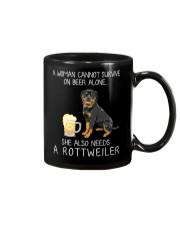 Beer and Rottweiler Mug thumbnail
