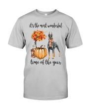 The Most Wonderful Time - Doberman Pinscher Classic T-Shirt front