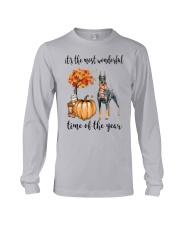 The Most Wonderful Time - Doberman Pinscher Long Sleeve Tee thumbnail